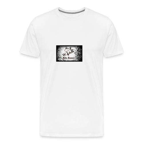 Six P & John Insanis WisR Huppari - Miesten premium t-paita