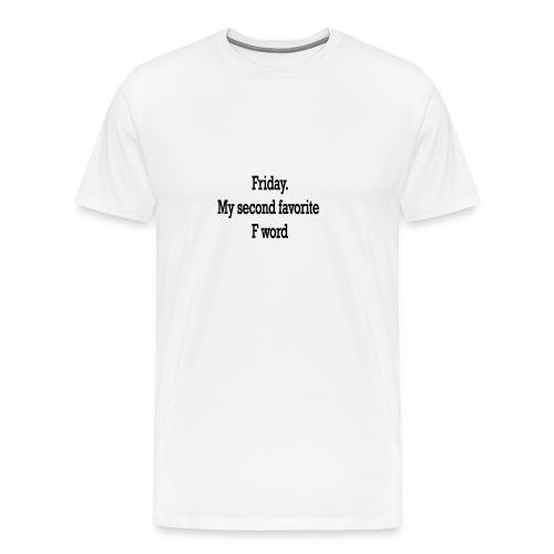 T-Shirt F word - Maglietta Premium da uomo