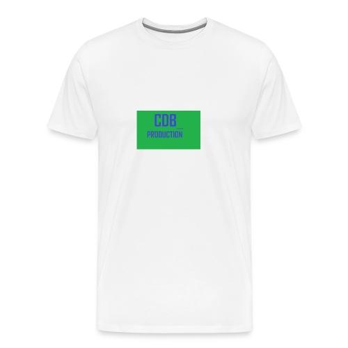 CDB_P - Premium T-skjorte for menn