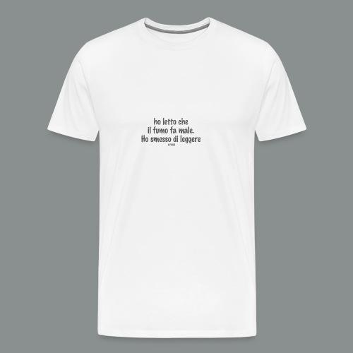 hoSmesso - Maglietta Premium da uomo