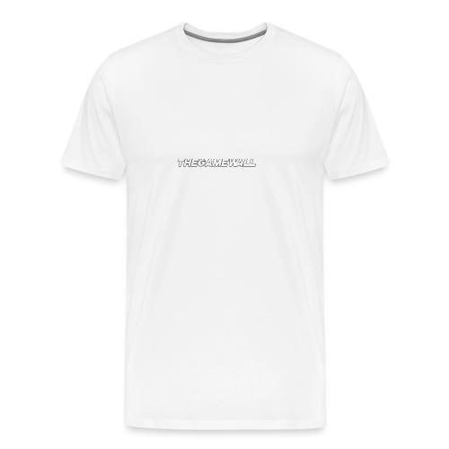 TheGameWall T-shirt 2 [BETA] - Mannen Premium T-shirt