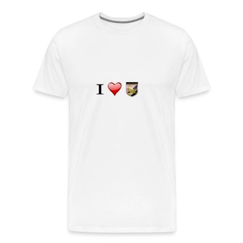 I Love Palermo - Maglietta Premium da uomo