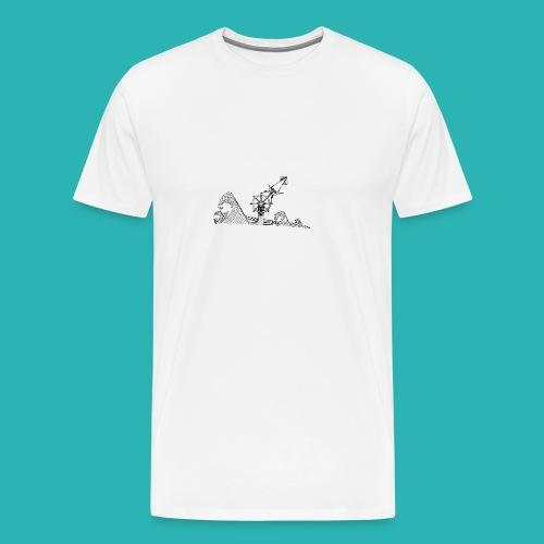Carta_timone-png - Maglietta Premium da uomo