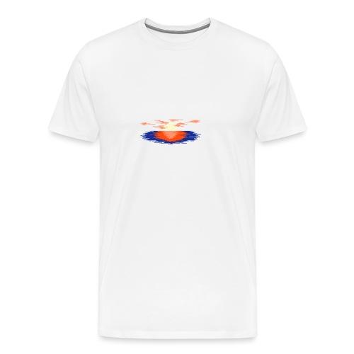 Sunset Landscape t-shirt - Maglietta Premium da uomo