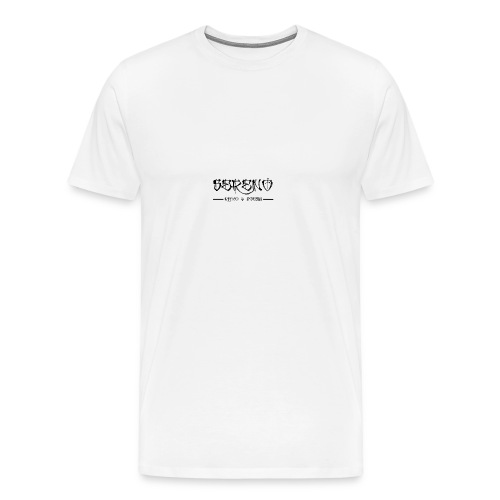 Sereno ritmo y poesia - Camiseta premium hombre