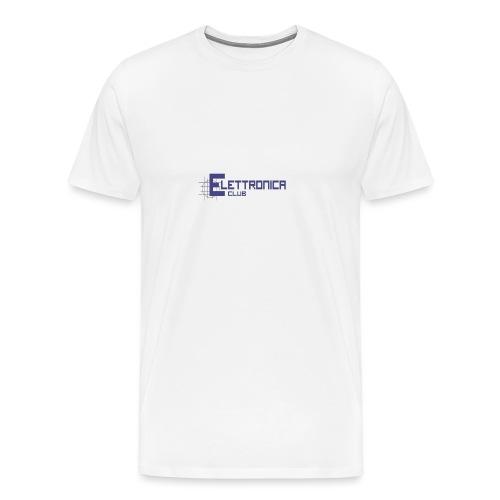 Felpa Elettronica Club - Maglietta Premium da uomo