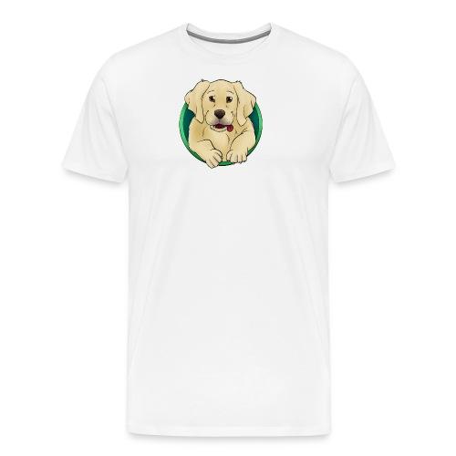 Hunde Portrait - Labrador Welpe - Männer Premium T-Shirt