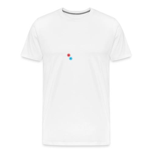 Logo Retrogamers Blanco - Camiseta premium hombre