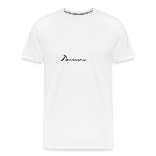 Kirvestyö Roivas työpaita - Miesten premium t-paita