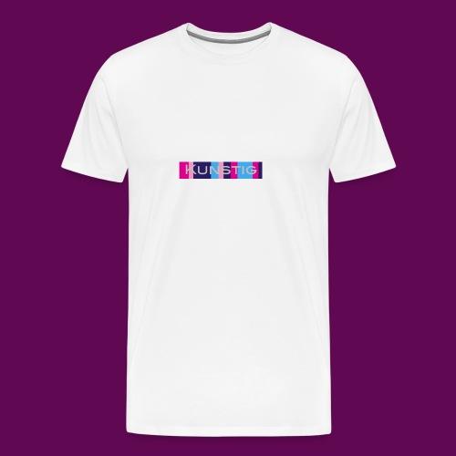 Hoofdlogo - Mannen Premium T-shirt