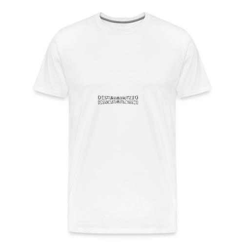 disturbo dissociativo - Maglietta Premium da uomo