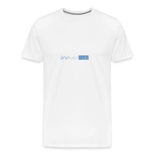 LINEVILLEHUB - Maglietta Premium da uomo