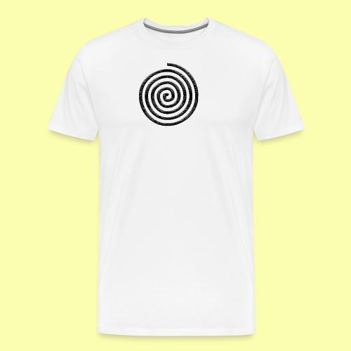 spirale - Maglietta Premium da uomo