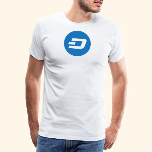 Dash Logo 2 - Männer Premium T-Shirt