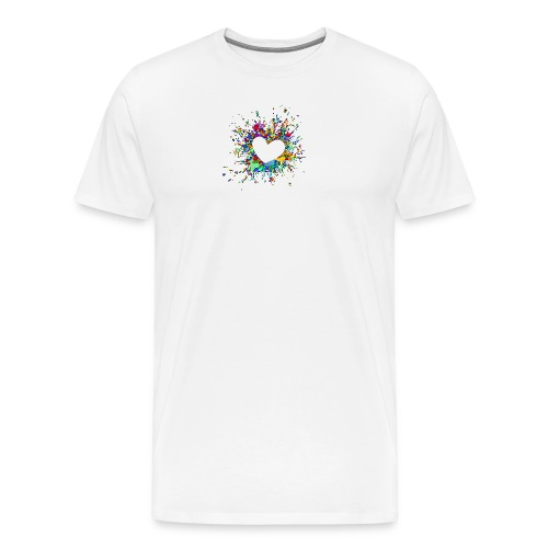 My heart explodes for you - Men's Premium T-Shirt