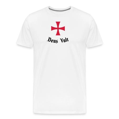Deus Vult - Mannen Premium T-shirt