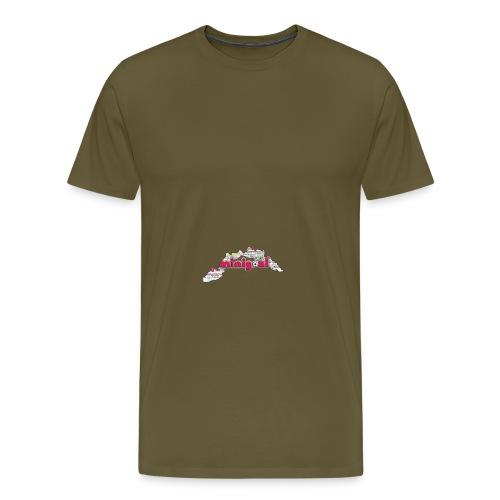 Maglietta Uomo Liguria - Maglietta Premium da uomo