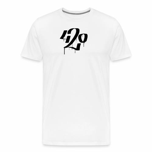 420 - Premium-T-shirt herr