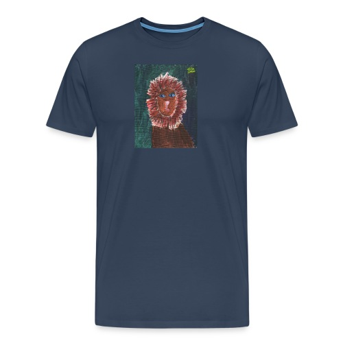 Lion T-Shirt By Isla - Men's Premium T-Shirt