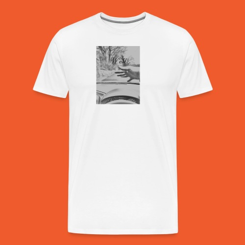 Well wave T-Shirt - Men's Premium T-Shirt