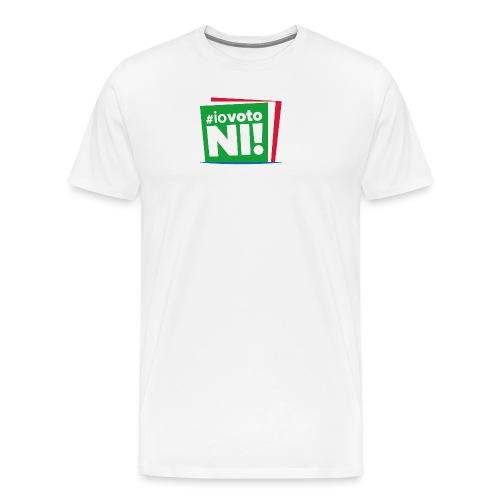 #IoVotoNI! - Maglietta Premium da uomo
