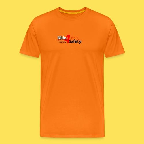 Ride 4 Safety - Maglietta Premium da uomo