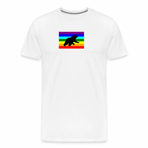 Orso libero in piedi - Maglietta Premium da uomo