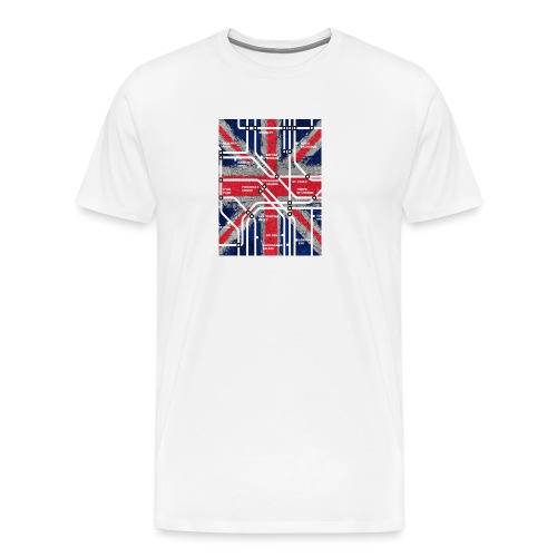 tube map - Men's Premium T-Shirt