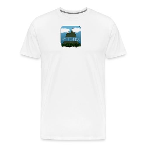 Hytteboka - Premium T-skjorte for menn