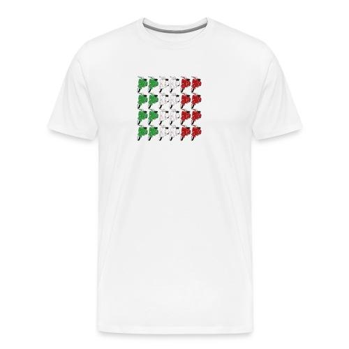 Italian_flag-png - Maglietta Premium da uomo