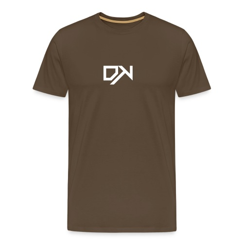DewKee Logo Shirt Black - Men's Premium T-Shirt