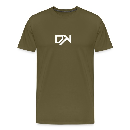 DewKee Logo Shirt Black - Men's Premium T-Shirt