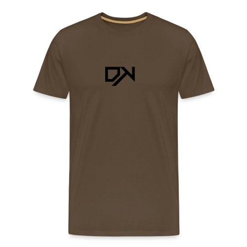 DewKee Logo T-Shirt Black - Men's Premium T-Shirt