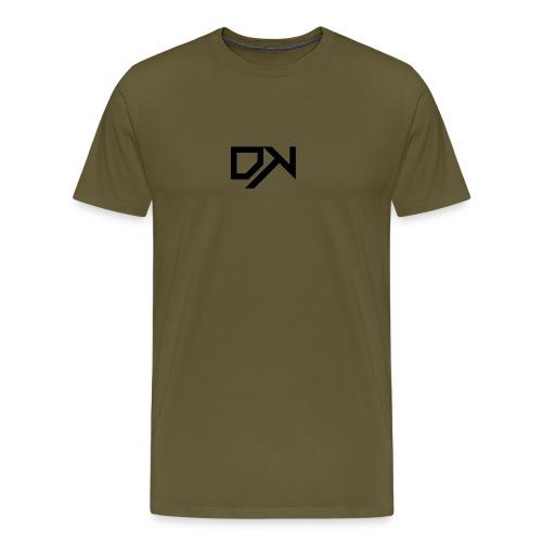 DewKee Logo T-Shirt Black - Men's Premium T-Shirt