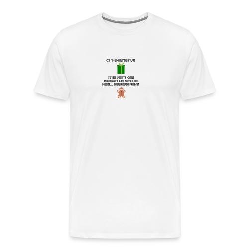 T-shirt cadeau de Noël - T-shirt Premium Homme