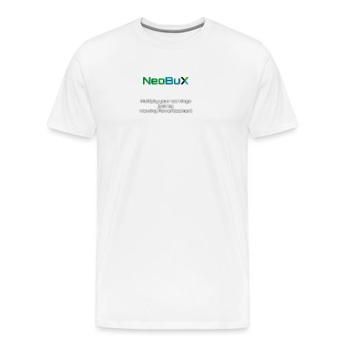 NeoBuX - Men's Premium T-Shirt