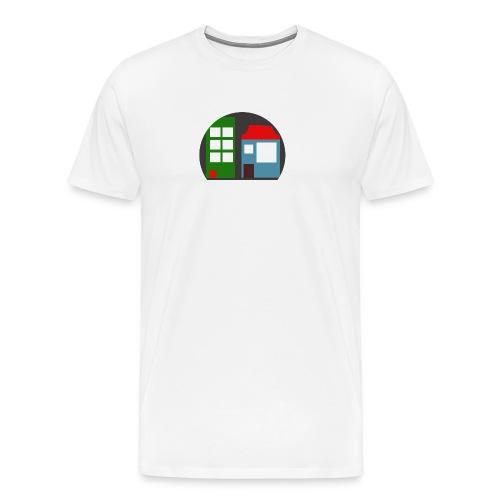 Minetopia T-Shirt - Mannen Premium T-shirt