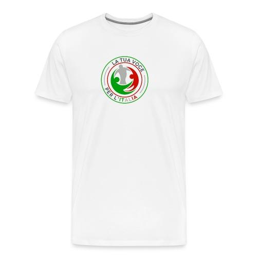 LA_TUA_VOCE_PER_ITALIA_01-png - Maglietta Premium da uomo