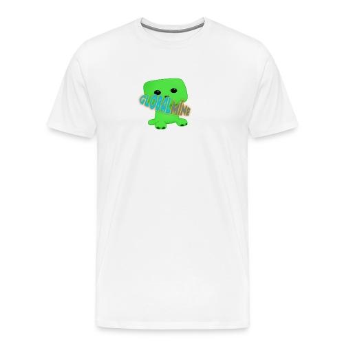 GlobalMine Creeper - Maglietta Premium da uomo