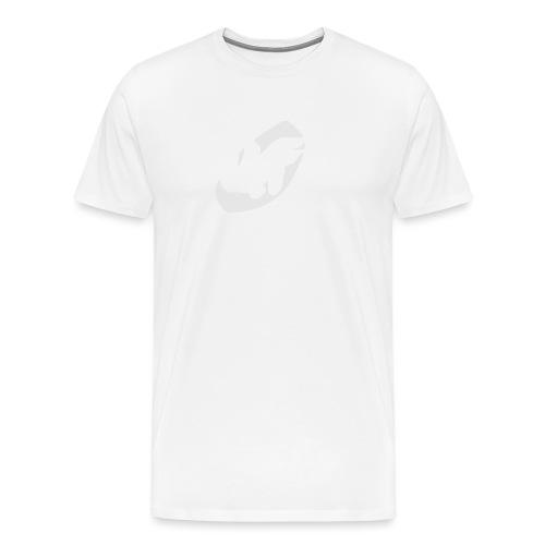 camiseta pico logo UF blanco - Camiseta premium hombre