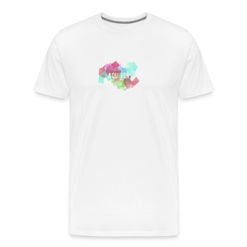 -AQUIVER- - Premium-T-shirt herr