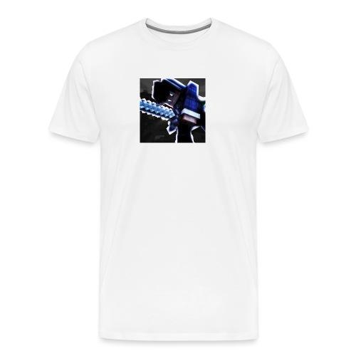 Bamso DK Buttons - Herre premium T-shirt
