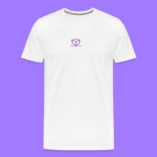 curtdoespcgaming logo #2 - Men's Premium T-Shirt