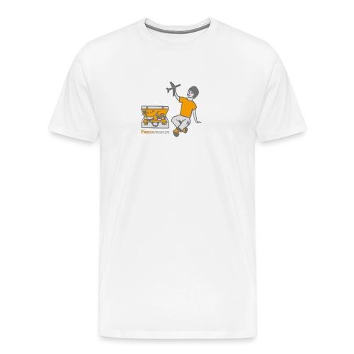 Piazzavacanze logo - Maglietta Premium da uomo