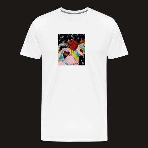 Schlafende Schönheit - Männer Premium T-Shirt