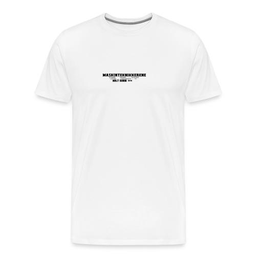 Maskin Teknikkerene T-Skjorte for Menn - Premium T-skjorte for menn