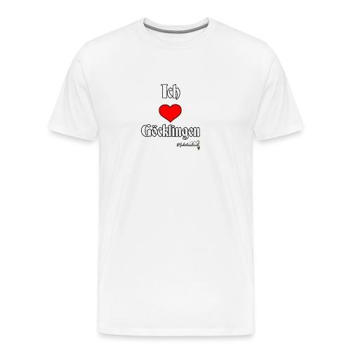 Ich herz Goecklingen - Männer Premium T-Shirt