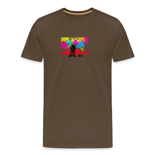 Magliette personalizzate bambini Dancefloor - Maglietta Premium da uomo