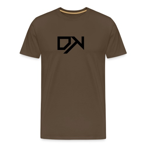 DewKee Logo Cap Black - Men's Premium T-Shirt