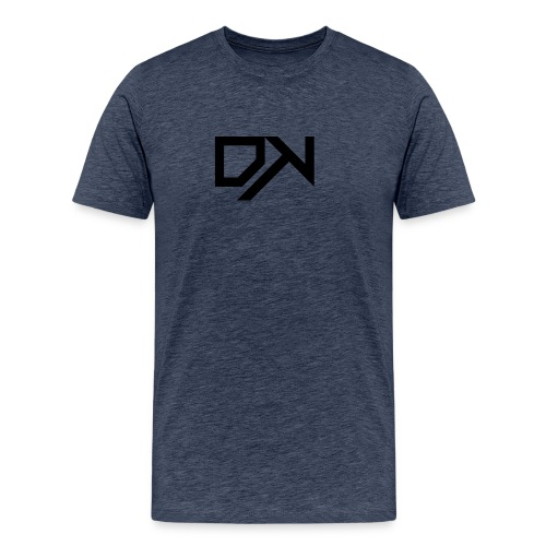 DewKee Logo Cap Black - Men's Premium T-Shirt